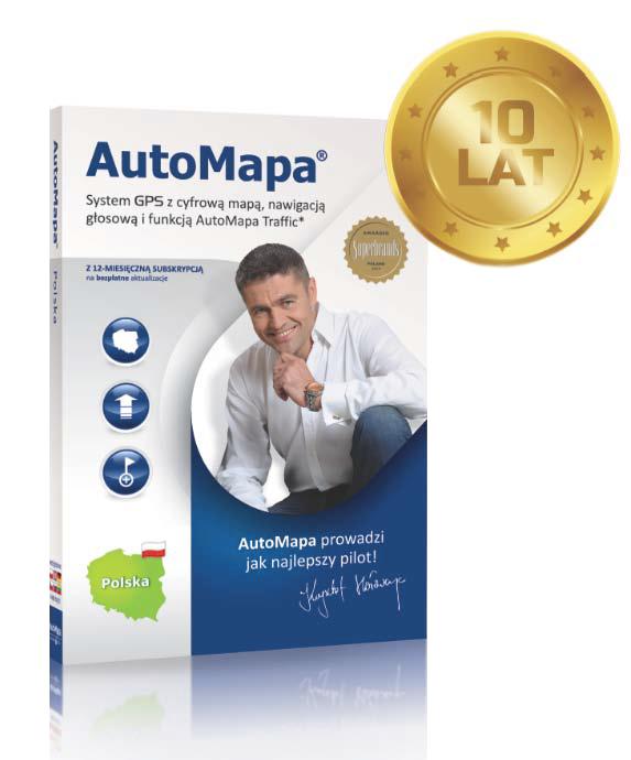 10 lat AutoMapy na rynku