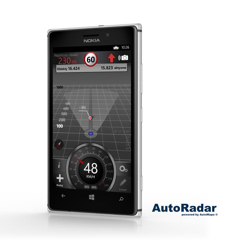 AutoRadar dla Windows Phone