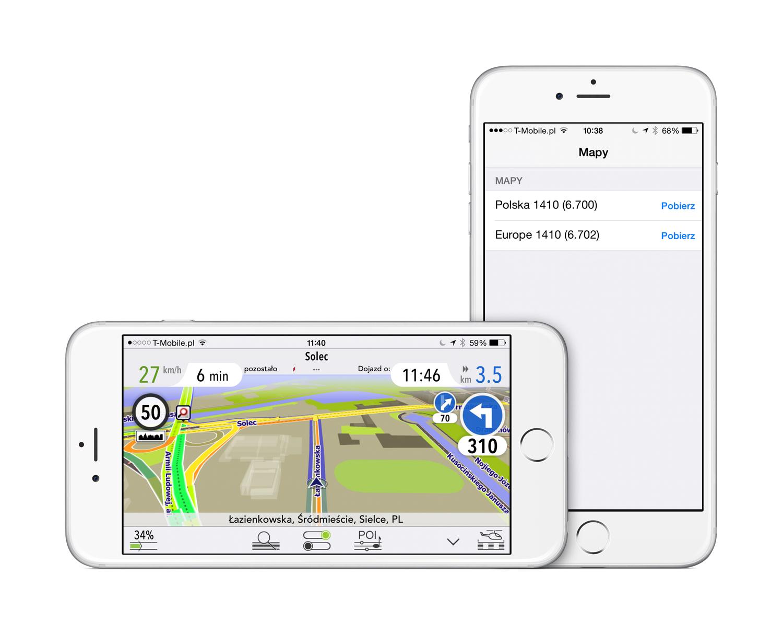 AutoMapa 5.1 dla iOS