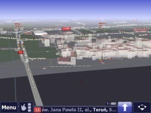 Satelite - widok 3D