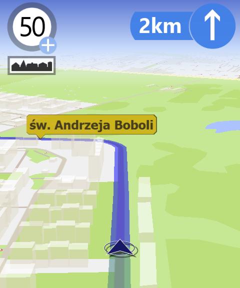 AutoMapa dla systemu Windows Phone 8