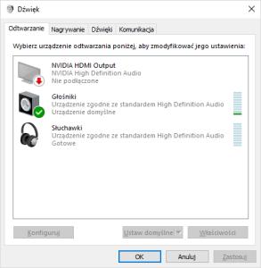 Aplikacja Dźwięk
