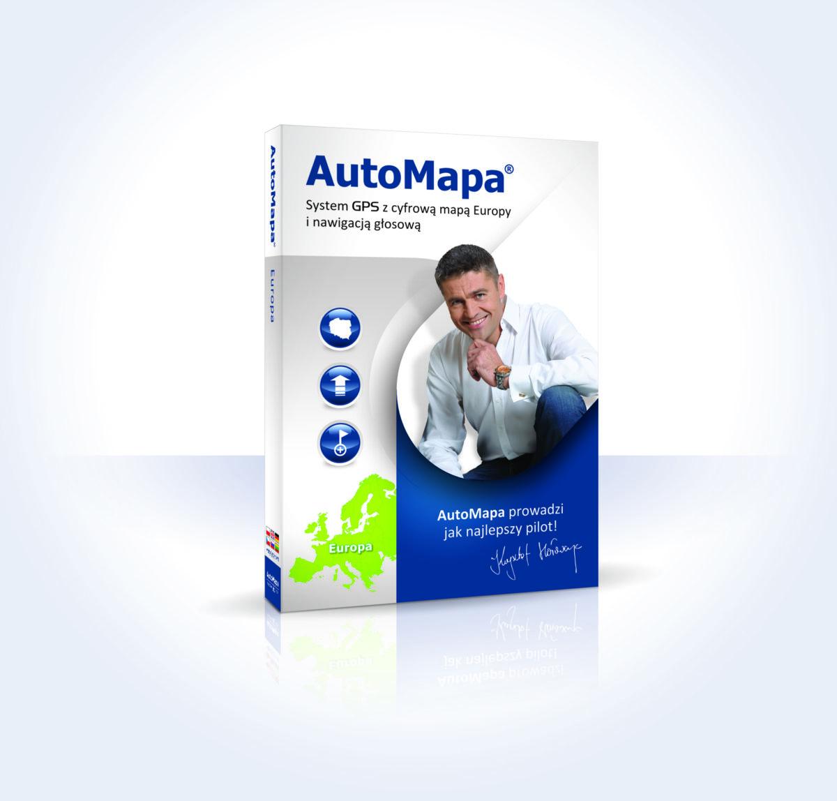 AutoMapa - system nawigacji GPS
