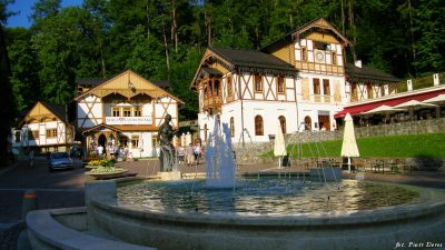Plac Dietla w Szczawnicy
