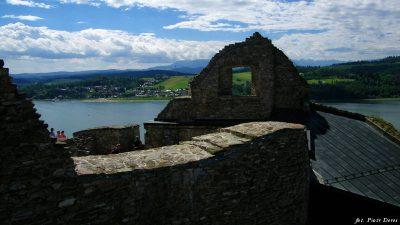 Ruiny czorsztyńskiego zamku
