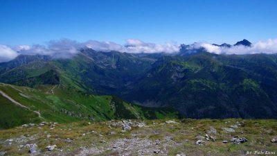 Widok z Małołączniaka na Tatry Wysokie