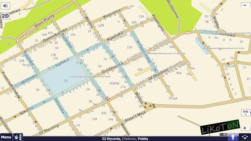 Chełmno - Strefa Płatnego Parkowania