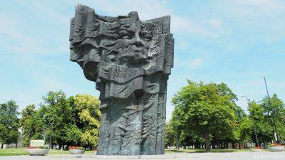 Pomnik upamiętniający Bronisława Broniewskiego