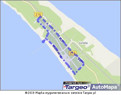 Jurata - Strefa Płatnego Parkowania