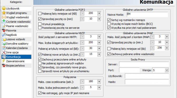 Electro Mailer - Nowa wizualizacja pól do wprowadzania wartości