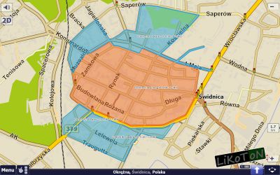 Świdnica - Strefa Płatnego Parkowania