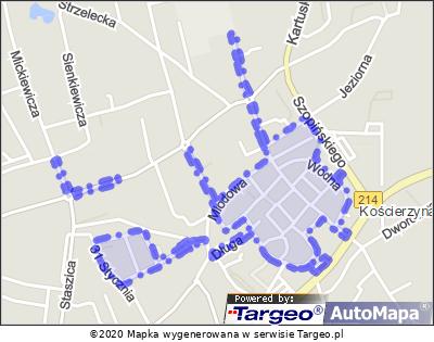 Kościerzyna - Strefa Płatnego Parkowania