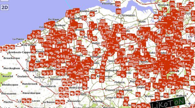 Fotoradary w Belgii po aktualizacji