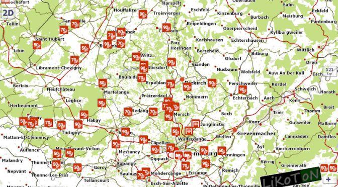 Fotoradary w Luksemburgu po aktualizacji