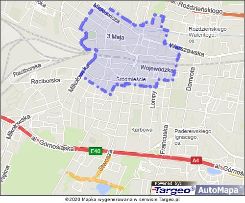 Katowice - Strefa Płatnego Parkowania