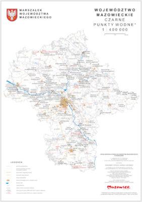 Czarne punkty wodne Mazowsze 2020