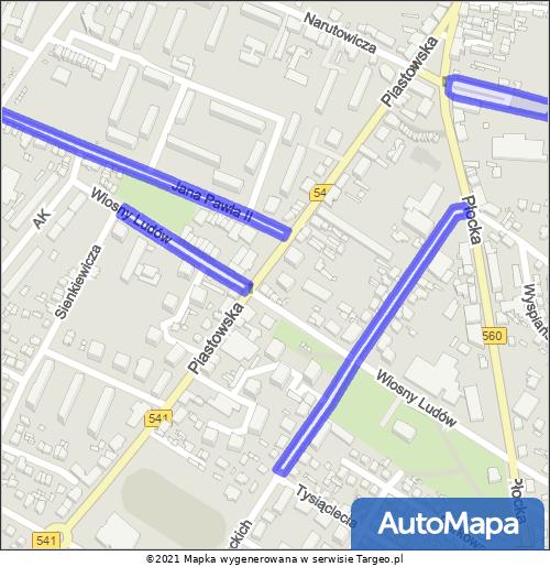 Sierpc Strefa Płatnego Parkowania mapa Targeo